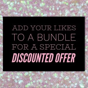 Create A Bundle And Get A Special Private Discount
